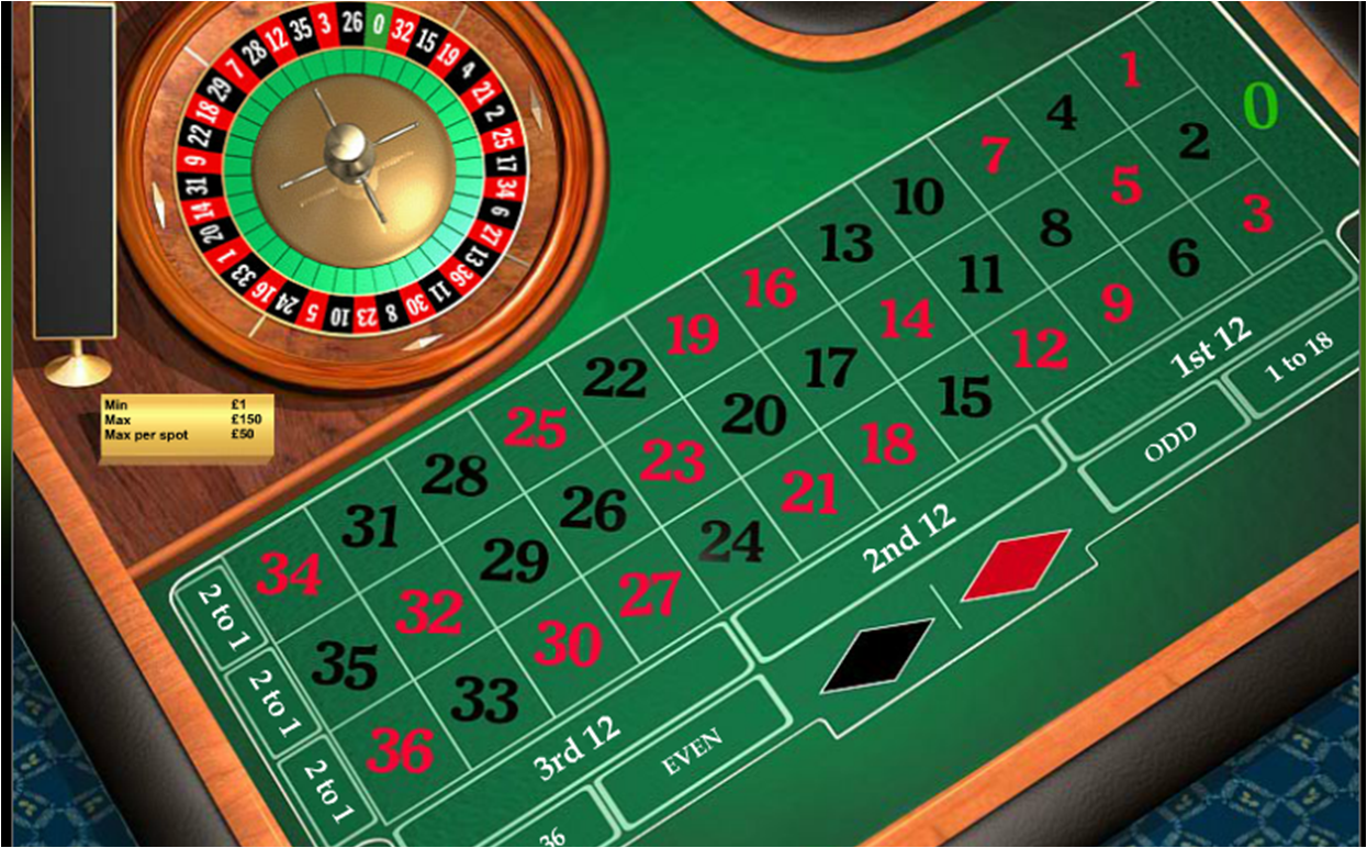 Free play roulette 888
